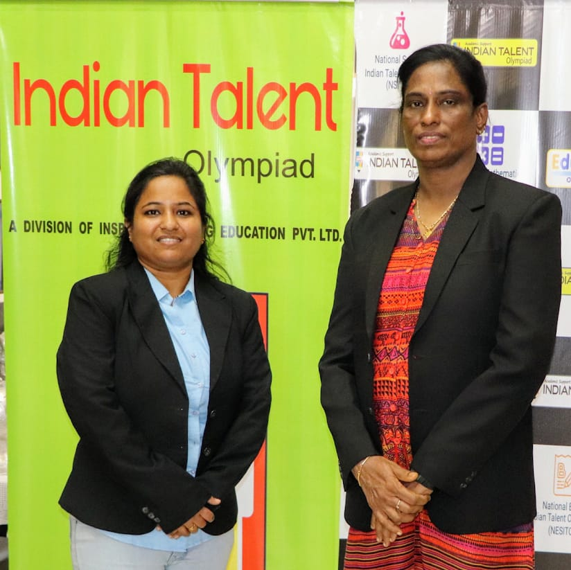 uploads/Olympiad-functions-and-Organization/Director with Honorable Pt. T. Usha Ma'am.jpg