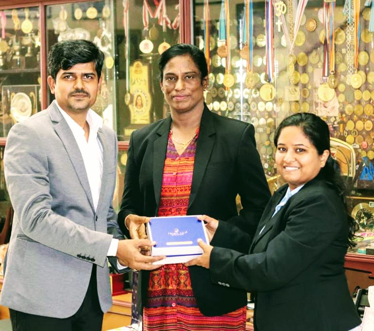 uploads/Olympiad-functions-and-Organization/Directors With P. T. Usha Ma'am.jpg