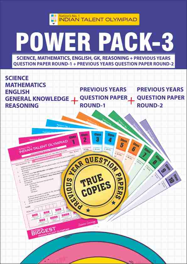 Class 3 Olympiad Power Pack 3