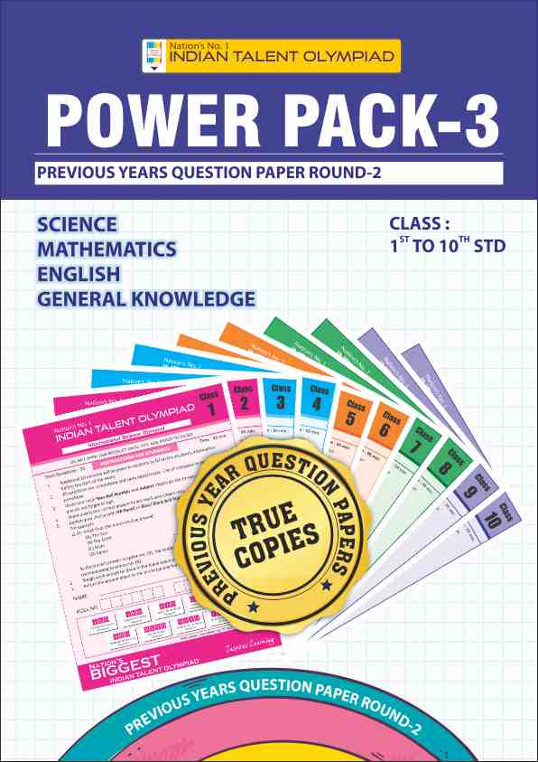 Class 2 Olympiad Power Pack 3