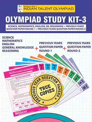 Class 8 Olympiad Study Kit 3