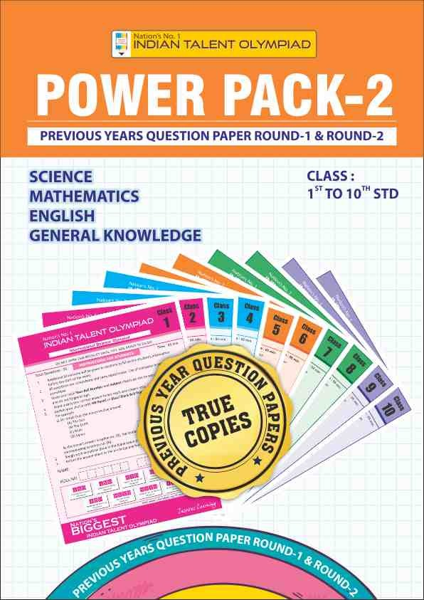 Class 8 Olympiad Power Pack 2