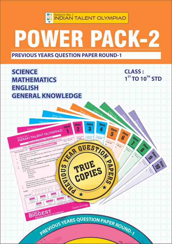 Class 1 Olympiad Power Pack 2