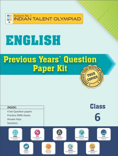 English Olympiad Previous Year Question Paper Class 6