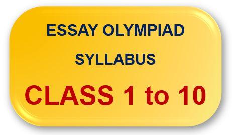 Essay Olympiad Syllabus Button
