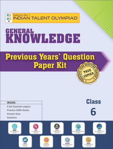 GK Olympiad Previous Year Question Paper Class 6