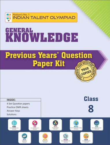 GK Olympiad Previous Year Question Paper Class 8