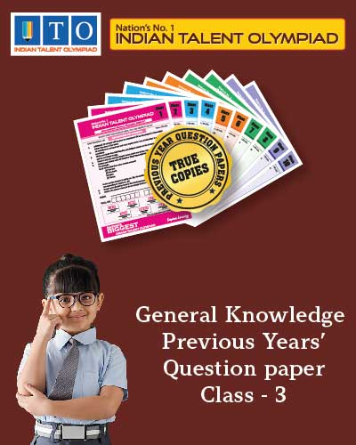 GK Privious Year Question Paper Class 3