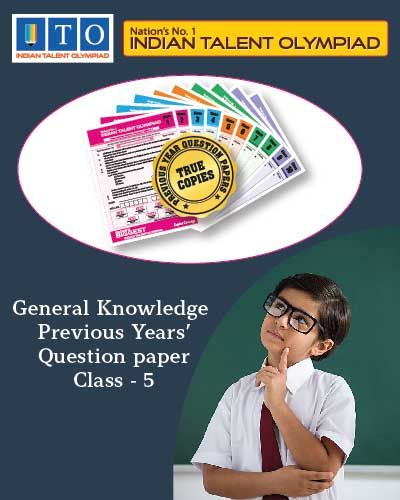 GK Privious Year Question Paper Class 5