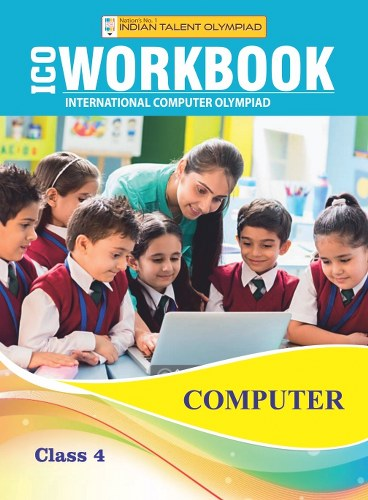 Indian Talent Olympiad Computer Olympiad Book For Class 4