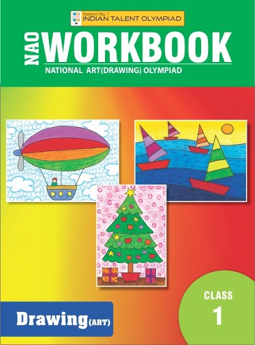 Indian Talent Olympiad Drawing Olympiad Book For Class 1