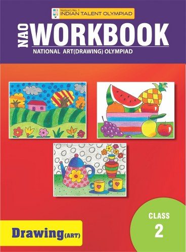 Indian Talent Olympiad Drawing Olympiad Book For Class 2