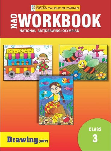Indian Talent Olympiad Drawing Olympiad Book For Class 3