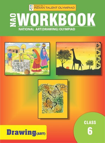 Indian Talent Olympiad Drawing Olympiad Book For Class 6