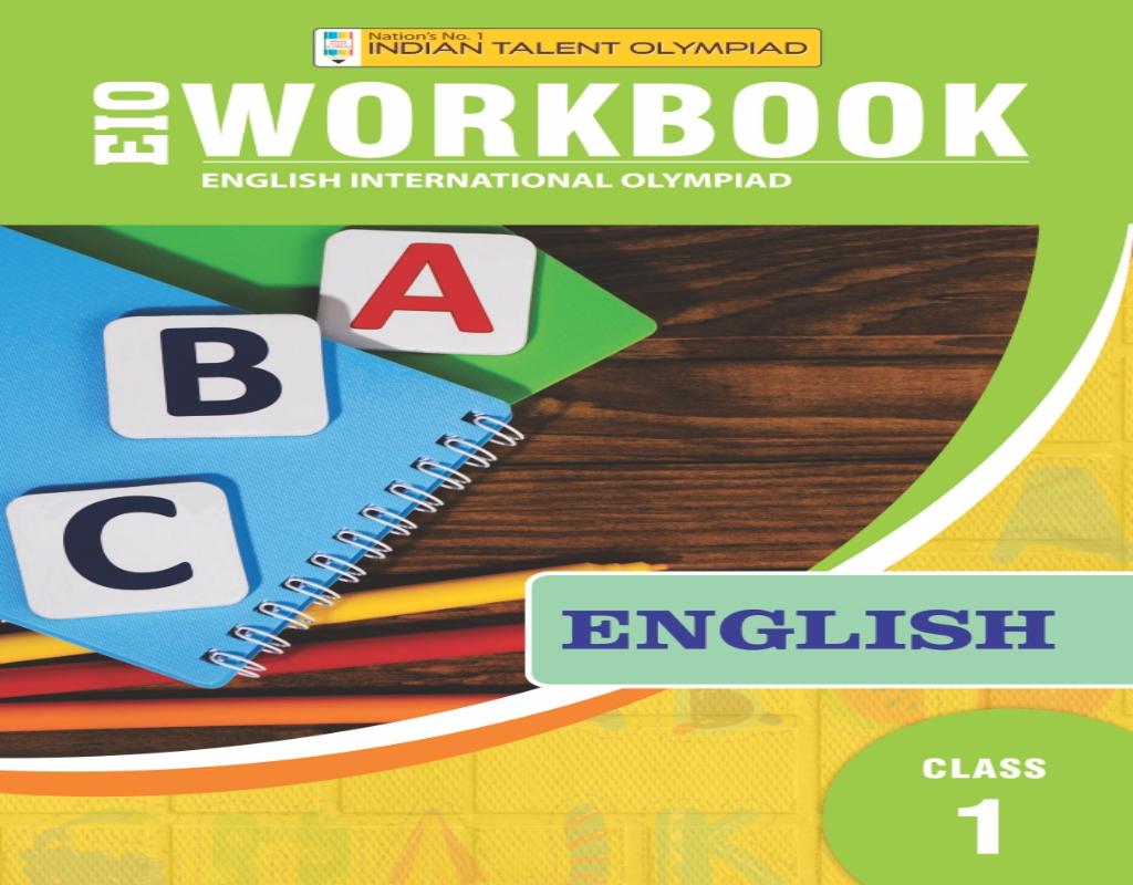 Indian Talent Olympiad English Olympiad Book For Class 1