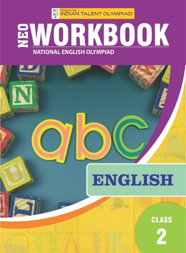 Indian Talent Olympiad English Olympiad Book For Class 2