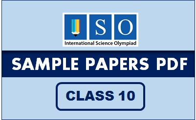 ISO Sample Paper Class 10 PDF Button