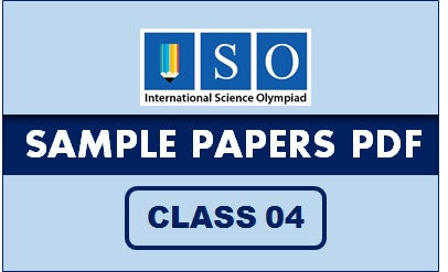 ISO Sample Paper Class 4 PDF Button