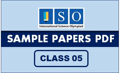 ISO Sample Paper Class 5 PDF Button