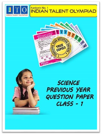 ISO Science Olympiad Previous Year Question Paper Class 1
