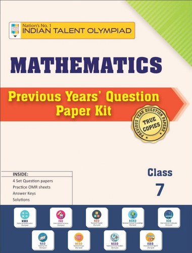 Maths Olympiad Previous Year Question Paper Class 7