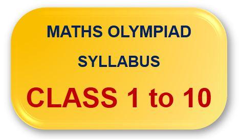Maths Olympiad Syllabus Button