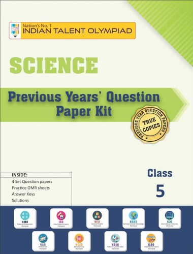 Science Olympiad Previous Year Question Paper Class 5