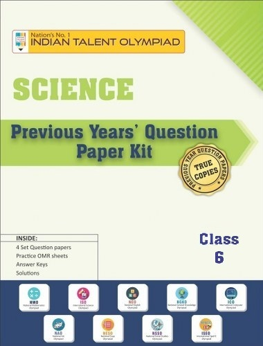 Science Olympiad Previous Year Question Paper Class 6