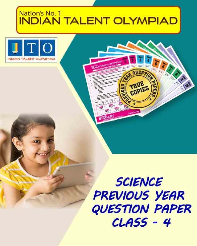 Science Privous Year Question Paper Class 4
